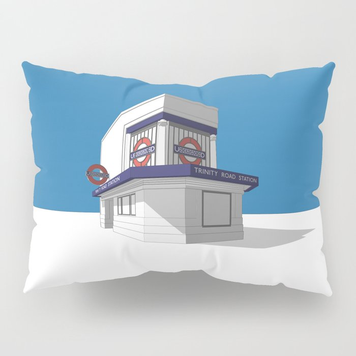 Trinity Road (Tooting Bec) Pillow Sham