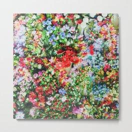 Floral V4 Metal Print
