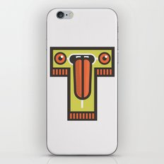 T for tongue iPhone & iPod Skin