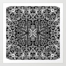 Lace Variation 01 Art Print