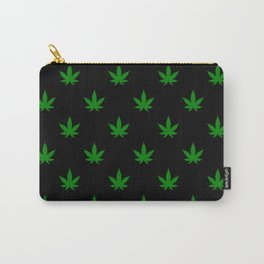 weed leaf print pattern Carry-All Pouch
