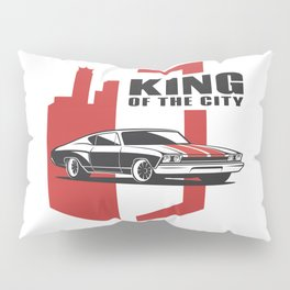 Muscle Car - the king Pillow Sham