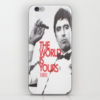 scarface iPhone & iPod Skins featuring SCARFACE by I Love Decor