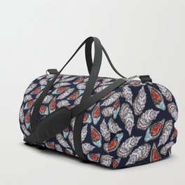 Swedish Waters: Oyster Blue Duffle Bag