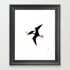 PTERODACTYL OF PEACE Framed Art Print