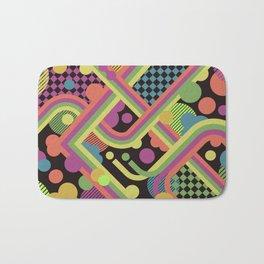 Multi-Color Geometric Fantasy Bath Mat