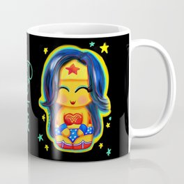 Kawaii Wonder Kokeshi Coffee Mug