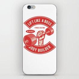 Lift Like A Boss iPhone Skin
