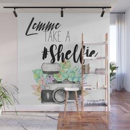 Lemme Take a #Shelfie Wall Mural