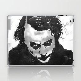 The joker in B&W Laptop & iPad Skin