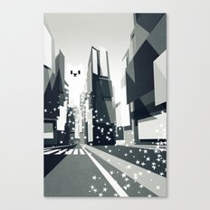 Yeti coming to town. Canvas Print