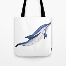 Striped baby dolphin Tote Bag