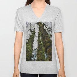 Tall Moss Unisex V-Neck