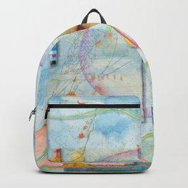 Song for Orange Bellied Parrot Backpack