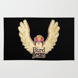 Bird Jesus Rug
