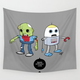 Zombie+Bot Wall Tapestry