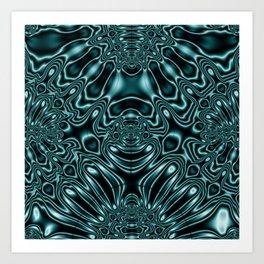 Glowing FLD97 Art Print