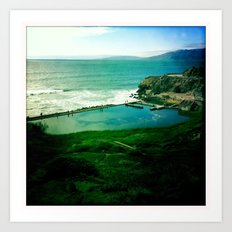 Sutro Baths Art Print