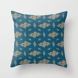 FracPattern #15 Throw Pillow