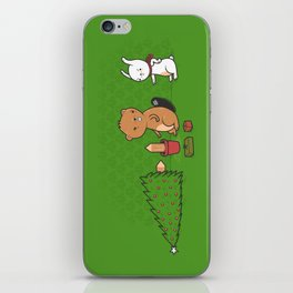 Beavers ruin Christmas iPhone Skin