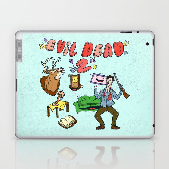 ♥ EVIL DEAD 2 ♥ Laptop & iPad Skin
