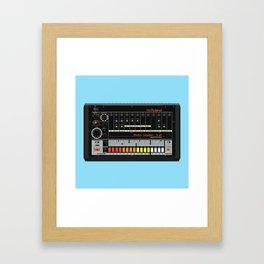 808 Square Framed Art Print