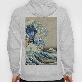 The Great Wave Off Gyarados Hoody