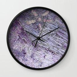 Purple-Starfish Wall Clock