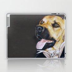 Mans Best Friend - Dog in Suit Laptop & iPad Skin