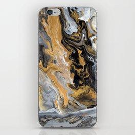 Gold Vein Marble iPhone Skin