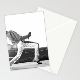 Freddie of Queen at Wembley 1986 Stationery Cards