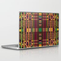 grid Laptop & iPad Skins featuring Grid by Glanoramay
