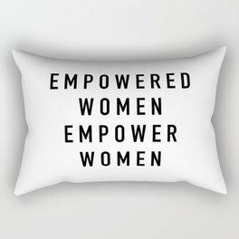 Empowered Women Rectangular Pillow