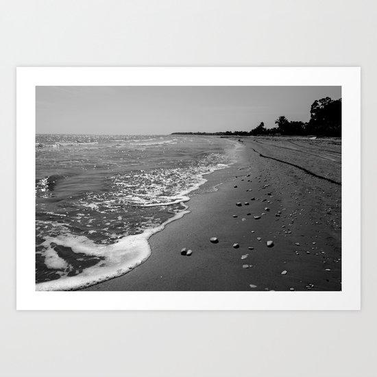BEACH DAYS XXX Art Print
