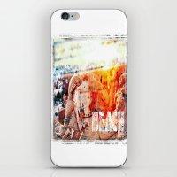 chicago bulls iPhone & iPod Skins featuring Beach Bulls by Zhineh Cobra