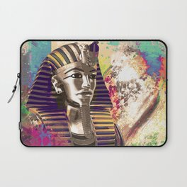 King Tut  Mask Abstract composition Laptop Sleeve