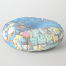 Electric Phase Floor Pillow