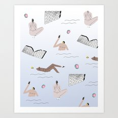 sprang break Art Print