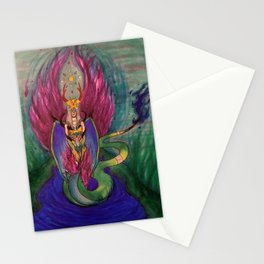 Serpent Goddess Stationery Cards