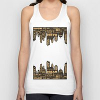 motivational Tank Tops featuring Motivational by Andreea Red