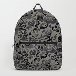 Pug Black Camouflage Backpack