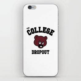 Bear Dropout iPhone Skin