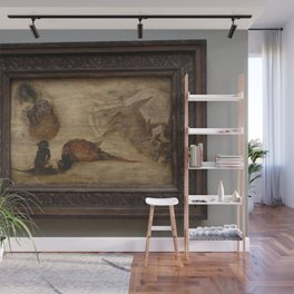 Jan Brueghel the Younger - Study of monkeys, a deer and other animals Wall Mural