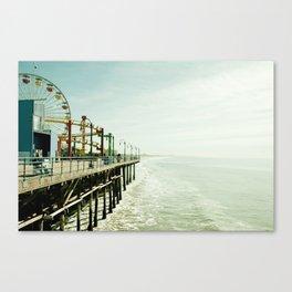 pier Canvas Print