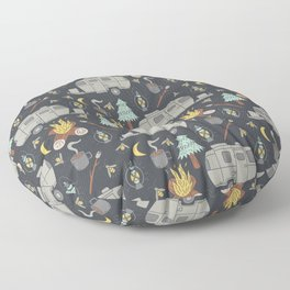 Airstream Camping Floor Pillow