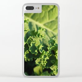 Beauty of Kale Clear iPhone Case