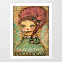 The Queen Marie Antoinette Art Print