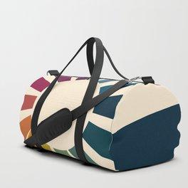 Retro Blossom Duffle Bag