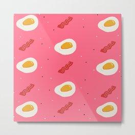Eggs N Baci Metal Print