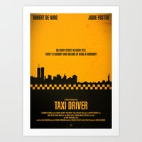 taxi driver Art Prints featuring Taxi Driver by Mark A. Hyland (MAHPhoto)
